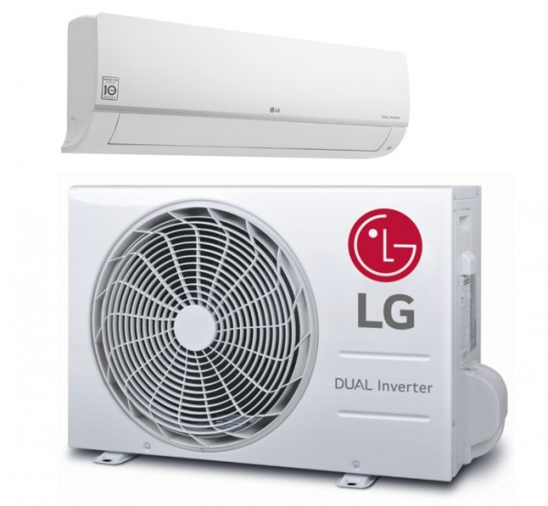 AKTIE 2021 LG PC09SQ R32 2,5kW WiFi Standard Plus Smart Inverter set